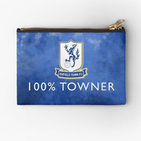 100% Towner - Enfield Town Football Club  Zipper Pouch