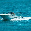 boat on the lago maggiore (001) by dirk hinz