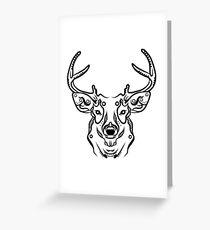 Dear, Deer Greeting Card