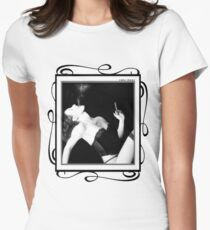 Smoke & Seduction - Self Portrait Womens Fitted T-Shirt