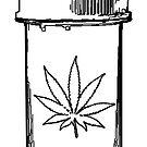 marijuana medical bottle by asyrum
