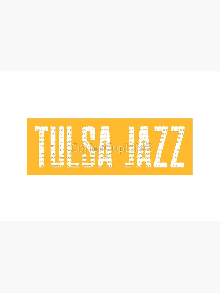 TheCoffeeCupLife: Tulsa Jazz Distressed by CoffeeCupLife2