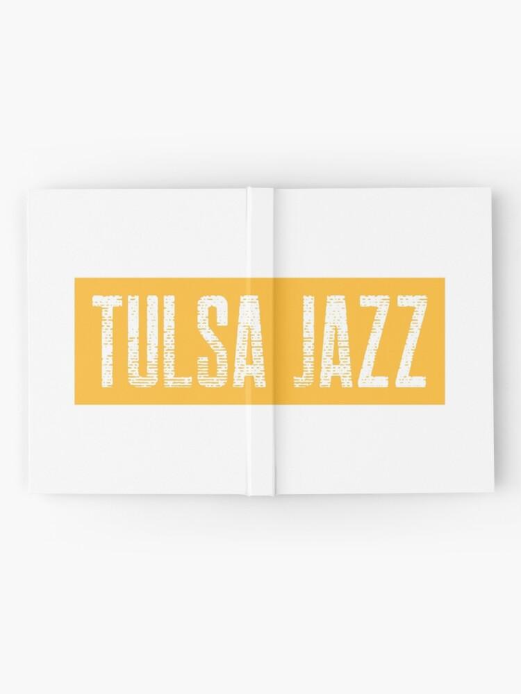 Alternate view of TheCoffeeCupLife: Tulsa Jazz Distressed Hardcover Journal