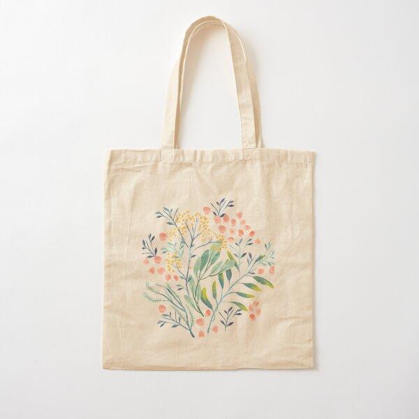 Botanical Garden Cotton Tote Bag