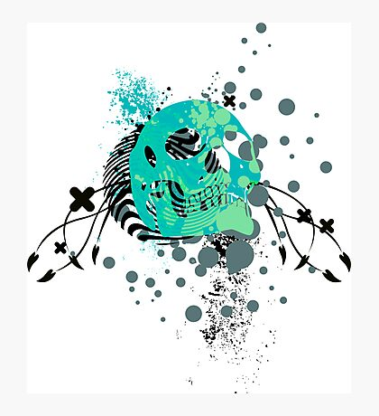 skulls : hi-fi Photographic Print