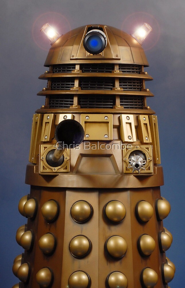 Doctor Who Gold Dalek by ChrisBalcombe