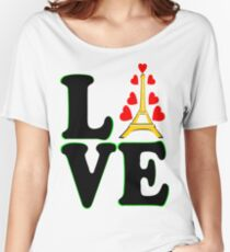 •°♥§Love Paris-Eiffel Tower Fabulous Clothing & Stickers§♥°• Women's Relaxed Fit T-Shirt