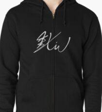 Xiumin Signature Zipped Hoodie