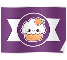 Quot Cute Orange Cupcake Quot Stickers By Sugarhai Redbubble