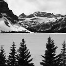Bow Lake, Banff National Park, Canada, 2013 by Graham Schofield