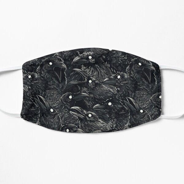 Raven pattern 2 Mask