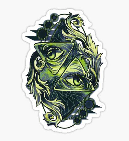 Two Eyes Sticker