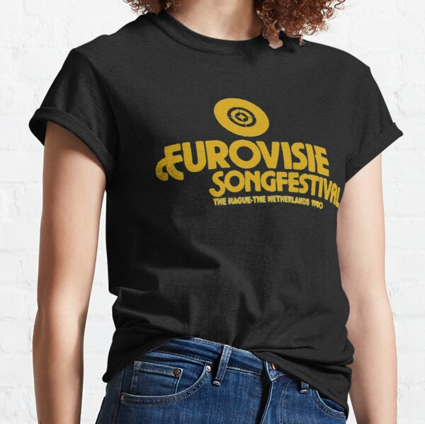 Camiseta Eurovision Song Contest 1980 Camiseta clásica