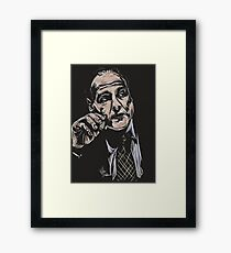 Tony Soprano / James Gandolfini Framed Print