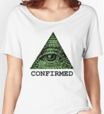 Illuminati Confirmed Women's Relaxed Fit T-Shirt