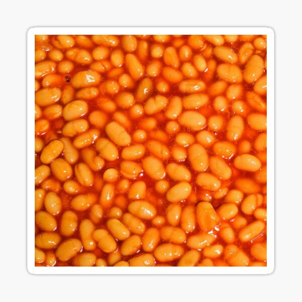 Baked Beans Sticker