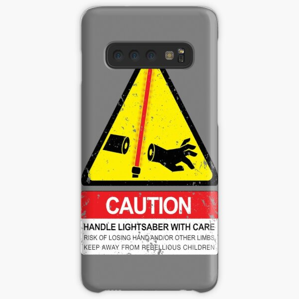 CAUTION: Handle With Care Samsung Galaxy Snap Case