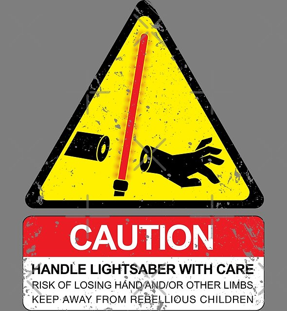 CAUTION: Handle With Care by D4N13L