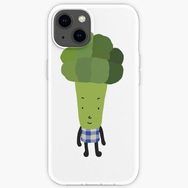 Mr broccoli  iPhone Soft Case