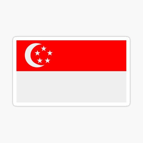 Flag of Singapore Sticker