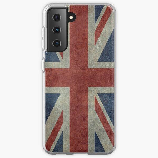 Union Jack Desaturated Grunge (3:5 Version) Samsung Galaxy Soft Case