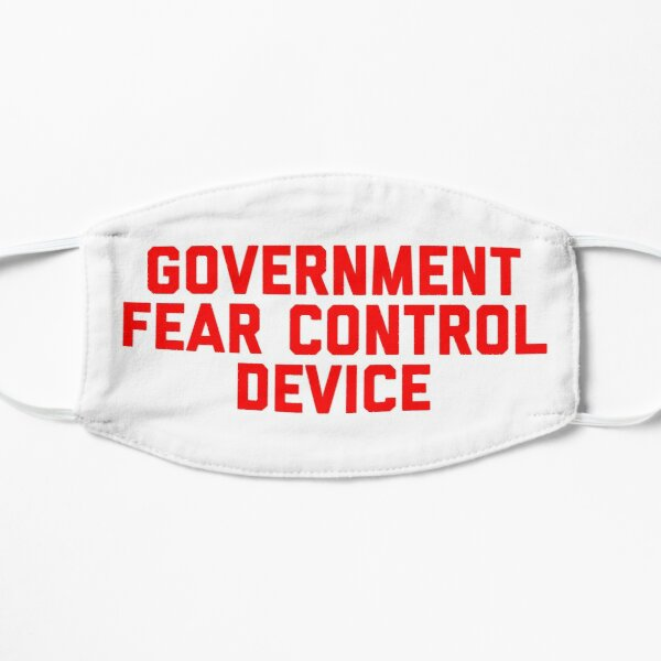 Government Fear Control Device Flat Mask