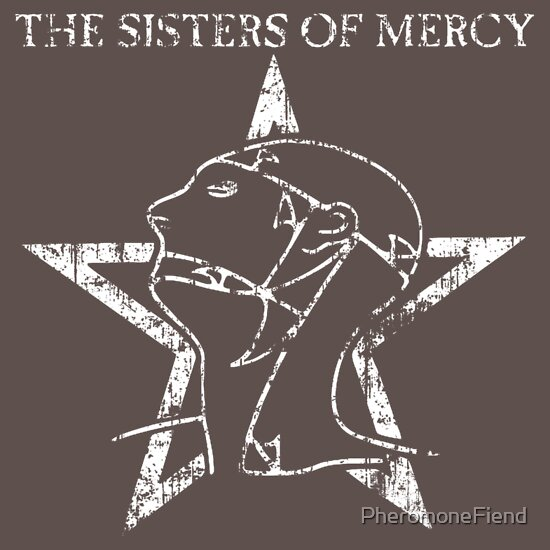 TShirtGifter presents: The World's End / The Sisters Of Mercy (Distressed) | Women's T-Shirt