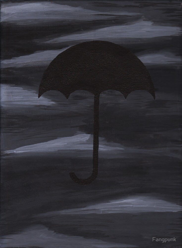Dark Shelter painting by Fangpunk