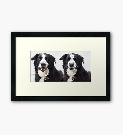 Now I see you............................. Now I don't Framed Print