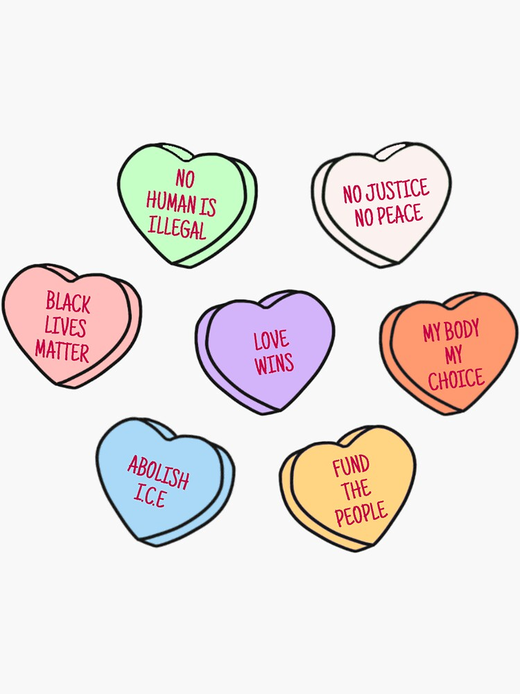 Liberal Heart Candies by xoxvkw