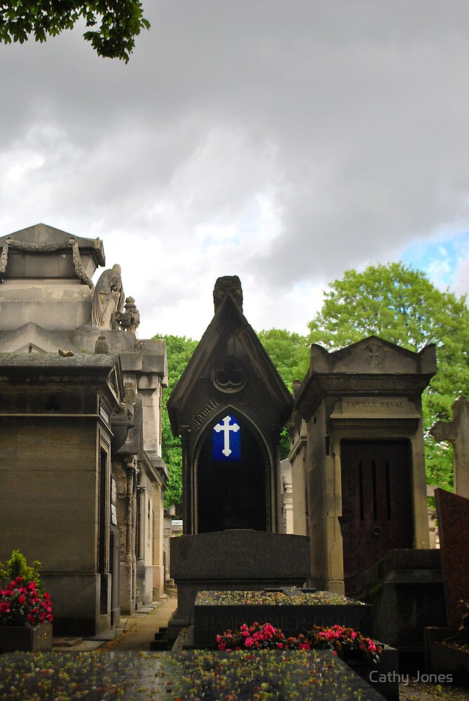 Cemetery- Paris by Cathy Jones