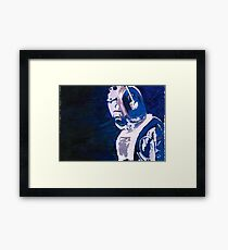 Excellent Leader - Cyberman Painting Framed Print
