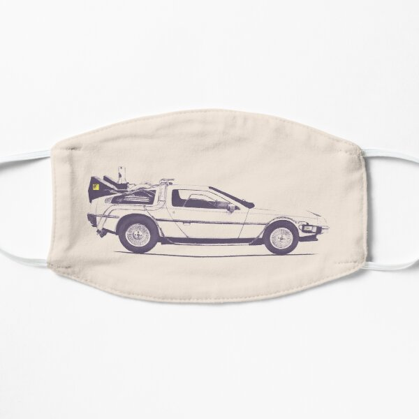 Delorean Flat Mask