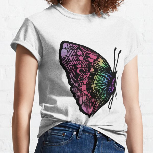 Butterfly Number 1 Chilldrens Classic T-Shirt