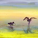 Birds in The Camargue 03 by Goodaboom