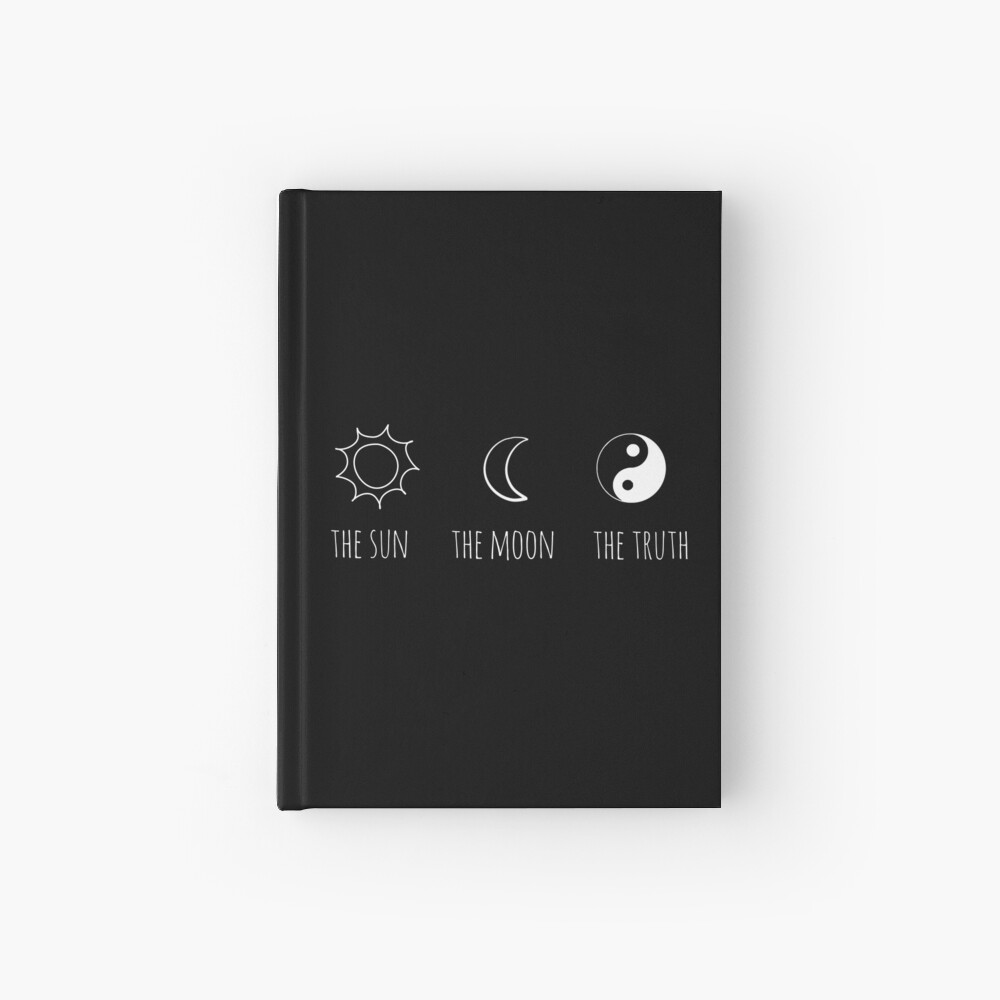 The Sun, The Moon, The Truth Hardcover Journal