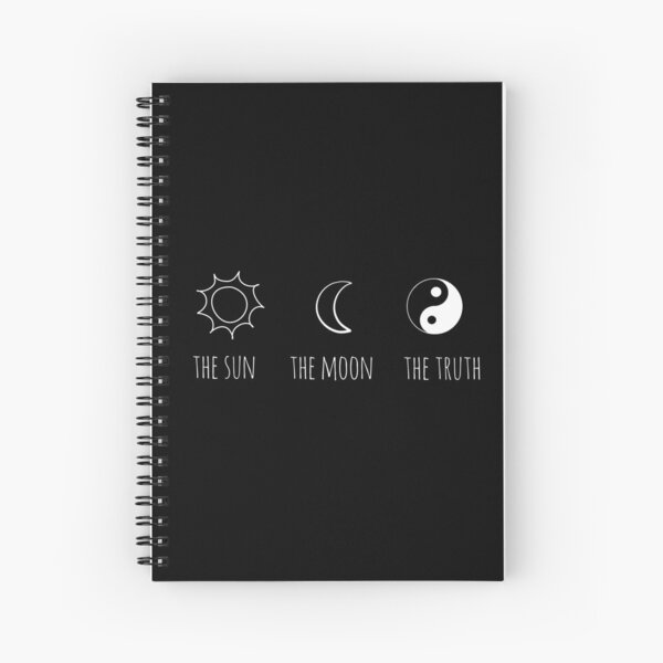 The Sun, The Moon, The Truth Spiral Notebook