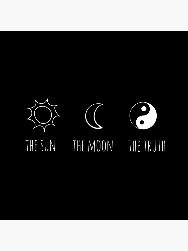 The Sun The Moon The Truth Tote Bag By Grxcelessly Redbubble