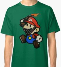 Anarchist Mario Classic T-Shirt