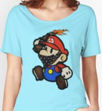 Anarchist Mario Women's Relaxed Fit T-Shirt