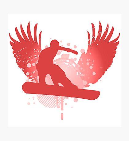 snowboard hi-fi Photographic Print