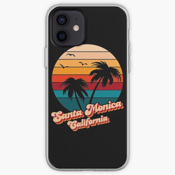 Santa Monica California iPhone Soft Case