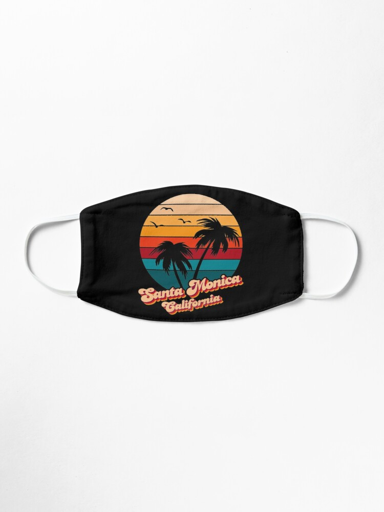 Alternate view of Santa Monica California Mask