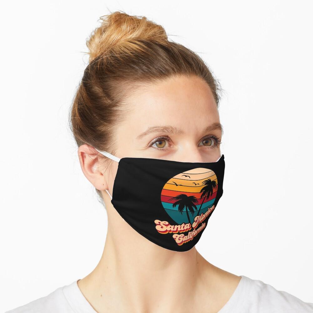 Santa Monica California Mask