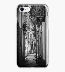 Streets of Seville BW iPhone Case/Skin