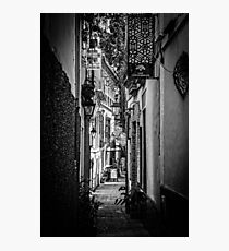 Streets of Seville BW Photographic Print