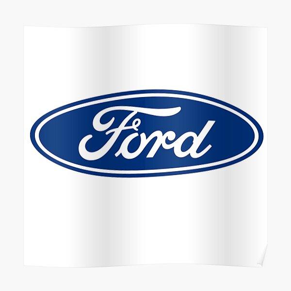 Ford Logo Emblem  Poster