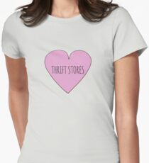 Thrift Store Love Women's Fitted T-Shirt