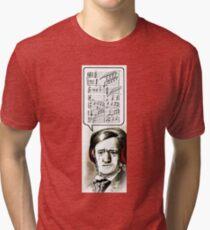 Hipster Richard Wagner Tri-blend T-Shirt