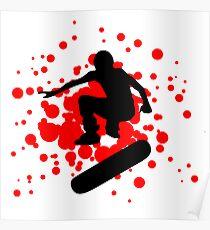 skateboard bubbles Poster